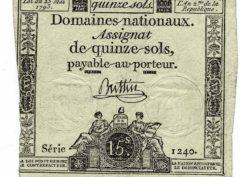 Assignat de quinze sols - France