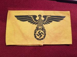 Brassard - Jaune - Aigle - Eagle - Nazi