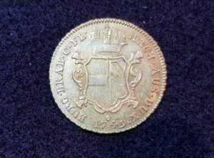 Brabant Souverain d'or - Anvers - 1749 - Marie-Thérèse - ARCH.AUS.DUX