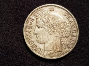 France - 5 Francs - Cérès - 1851 - A