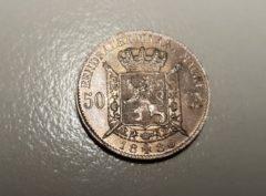 Belgique - 50 Centimes - 1886 - VL