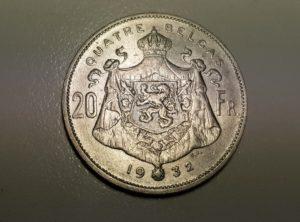 Belgique - Quatre Belgas - 1932 - Fr