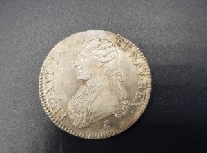 """Monnaie - Pièces - France - LOUIS XVI Écu dit """"aux branches d'olivier"""" 1789 Paris"""
