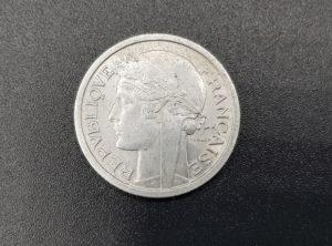 Pièce - Monnaie - France - 1 Franc - Morlon - 1957 - B