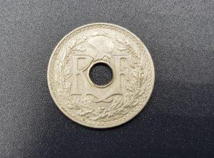 Pièce - Monnaie - 25 Centimes - France - 1939