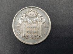 Pièces - Monnaies - 5 Francs - Monaco - 1960 - Rainier III