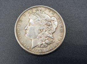 Pièce - Monnaie - 1$ Dollar - Morgan - 1889