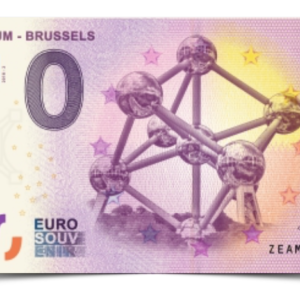 Billet Souvenir 0€ - BaBillet Souvenir 0€ - Banknote - Atomium 2018 - Euronknote - Atonium 2018 - Euro