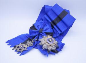 Décoration Belgique - Grand Cordon - Ordre de Léopold II - Bilingue