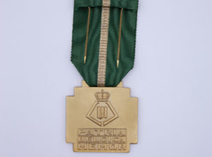 Décoration Belgique - Mérite Sportif 1939 OR - Léopold III - Patria