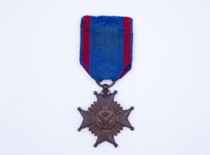 Décoration Belgique - Médaille Commémorative du 50ème anniversaire de l'établissement des chemins de fer en Belgique - 1834-1884