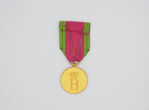 Médaille de la maison Royale Belge - Baudouin Or