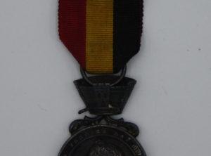 Décoration Belgique - Médaille pour actes de courage, dévouement et humanité 1847-1867 - Récompense Publique - Léopold Premier
