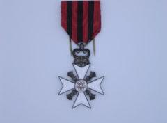 Décoration Belgique - Croix Civique - Ancienneté de Service - Classe Argent