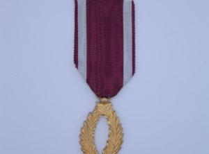 Décoration Belgique - Ordre de la Couronne - Palme - Dorée
