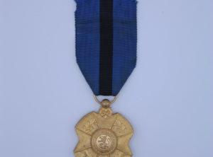 Décoration Belgique - Ordre de Léopold II - Médaille - Or