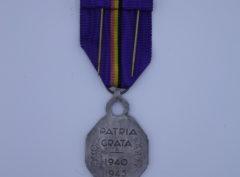 Décoration Belgique - Médaille Reconnaissance Belge - 1940 - 1945 AG - Mauve