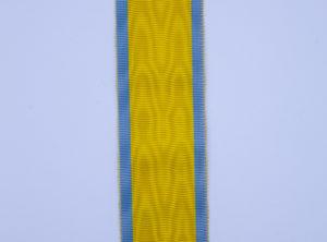 Ruban Décoration - Médaille de l'effort de guerre coloniale - Octobre 1947