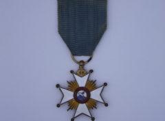 Décoration Belgique - Commémorative du centenaire du service Paquebots - Ostende - Douvres - 1946