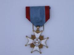 Décoration Belgique - Croix Médaille 75 ans Télégraphe - Emaillé