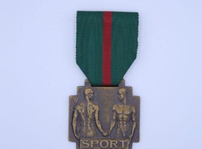 Décoration - Belgique - Médaille des Sport - Léopold III - Patria Belgica MEMOR