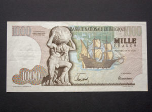 Billet 1000 Francs Belgique