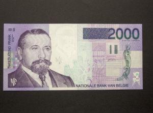 Billet 2000 Francs Belgique
