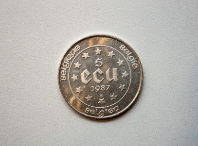 5 Ecu Belgique 1987