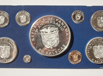 Coinage of Panama 1978 Silver proof