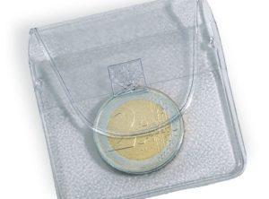 10 Pochettes Numismatiques à 1 Pièce