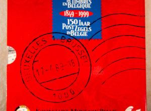 Set de Belgique 1999 – 150 ans de Timbres en Belgique