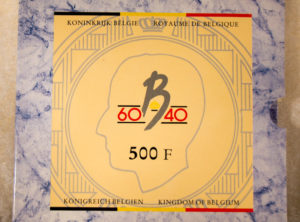 Set – Belgique 500 Francs