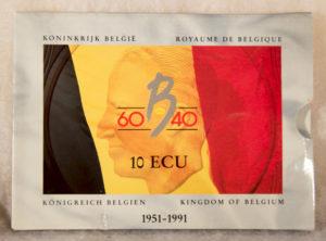 Set – Belgique 10 Ecu