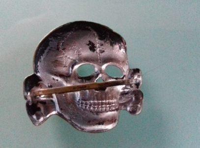 Waffen-SS Visor Skull