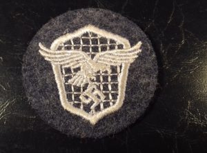Badge Conducteur de Véhicule Luftwaffe