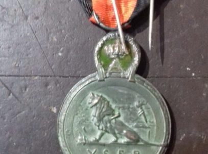 Médaille de L'Yser 1914