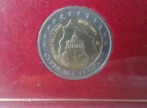 2 € Commémorative Vatican BU 2004
