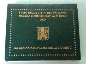 2 € Commémorative 2005 Vatican BU