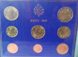Set Euro du Vatican 2007