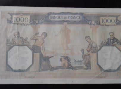 1000 Francs Français