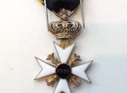 Croix commémorative des Volontaires 1830