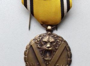 Médaille Commémorative de la Guerre 1940-1945