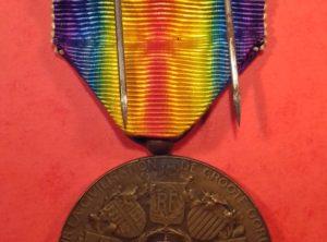 Médaille de la Victoire 1914-1918