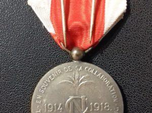 Décoration Comité National 2ème Classe