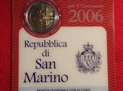 2€ Commémorative 2006 San Marino