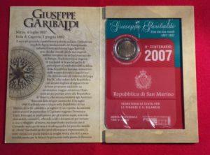 2€ Commémorative San Marino 2007