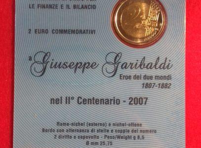 2€ Commémorative 2007 San Marino