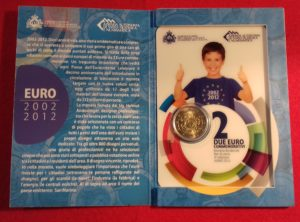 2€ Commémorative San Marino 2012