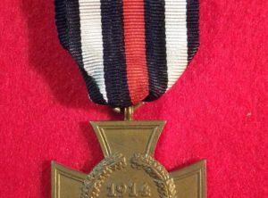 Croix d'Hindenburg 1914 – 1918 non-combattant
