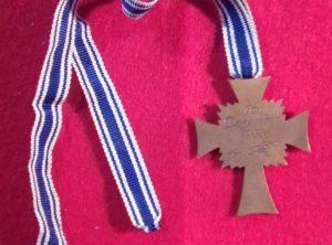 Croix des mères III Reich 3ème Classe